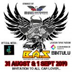 31 August – 1 September 2019: Borneo Automotive Show Vol. 1