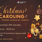 Christmas Carolling By St Thomas Anglican Church